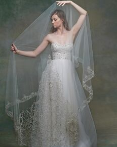 Blossom Veils & Accessories BV1570 Ivory Veil