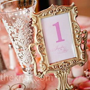 Pink Table Cards
