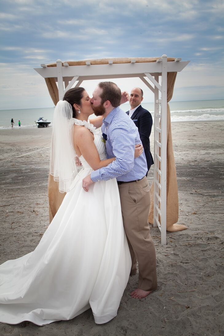 Folly Beach Waterfront Wedding Ceremony