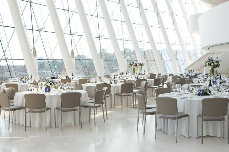 Modern Kauffman Center for the Performing Arts Reception