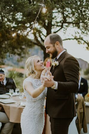 First Dance at Big Bend National Park Wedding in Texas