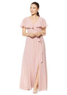#LEVKOFF 7106 V-Neck Bridesmaid Dress