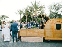 Wedding bar at reception