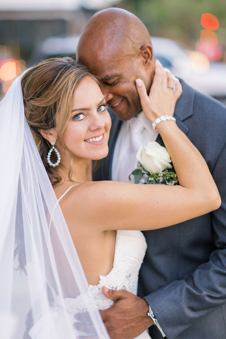 Bride and Groom Portraits at The Vault in Tampa, Florida