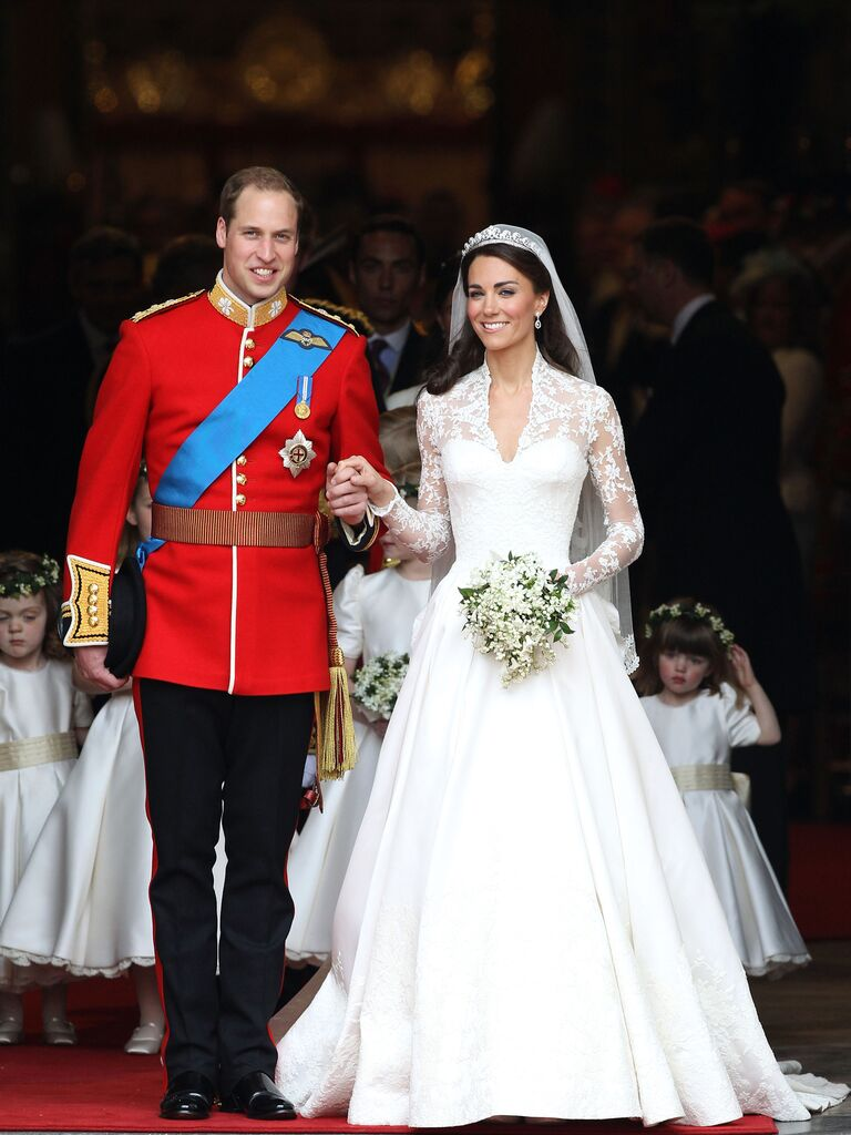 Kate Middleton's wedding dress, Sareh Nouri wedding dress look-alike