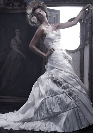 Amaré Couture B054 A-Line Wedding Dress