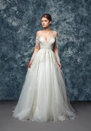 Enaura Bridal Couture EF800 - Waverly A-Line Wedding Dress