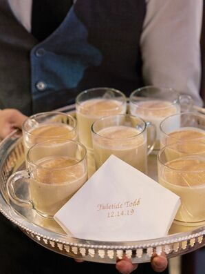 Eggnog to Welcome Ceremony Guests