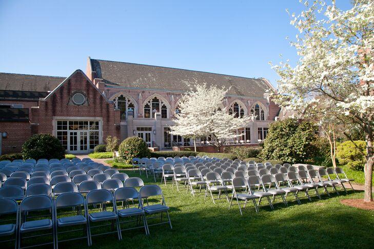 Agnes Scott College Wedding Ceremony
