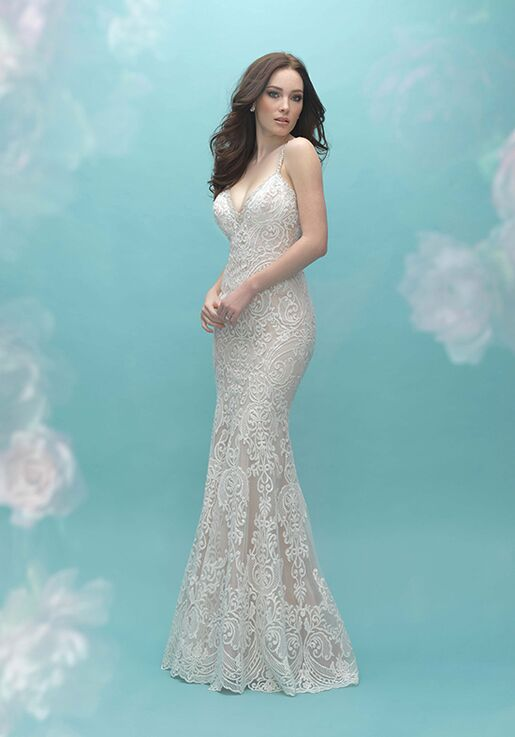 Allure Bridals 9452 Sheath Wedding Dress