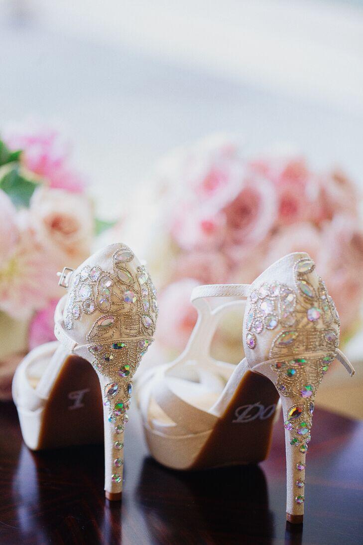 402ca99342 Gianni Bini Crystal-Detailed Bridal Shoes