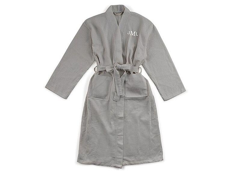 Best man robe gift from groom