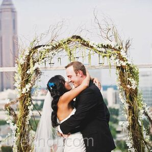 Urban Rooftop Ceremony
