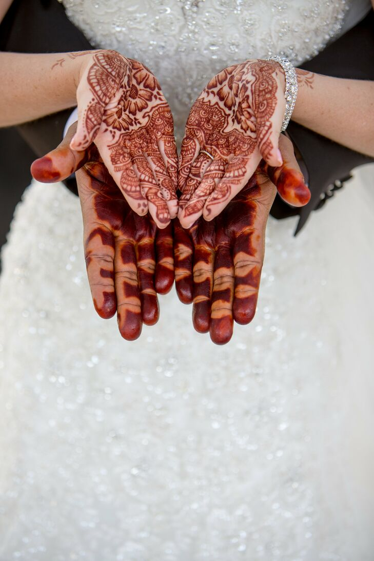 Traditional Sudanese Henna At Scottsdale Arizona Wedding
