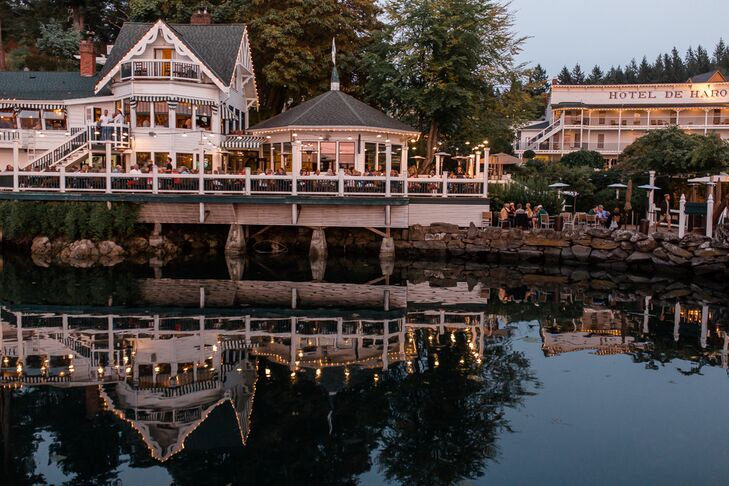 Quaint Waterfront Reception