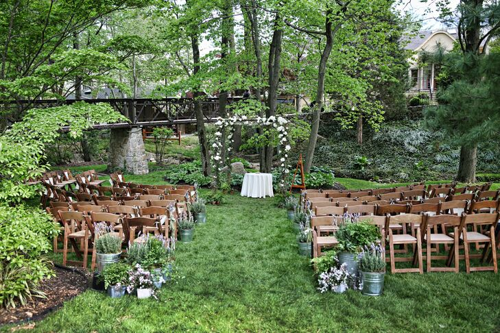 Green Ceremony in the Woods