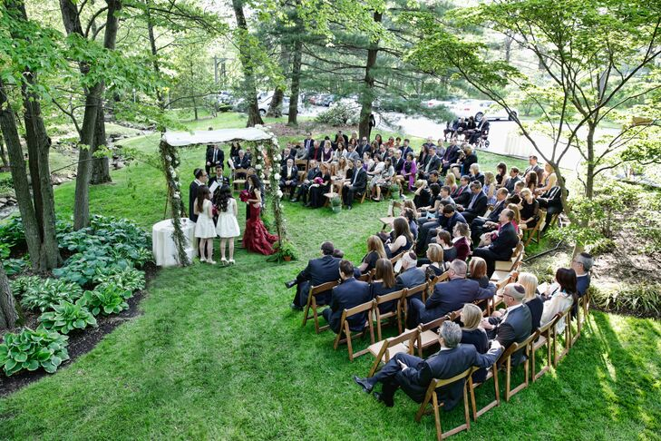 Outdoor Wedding Ceremony at Pomme