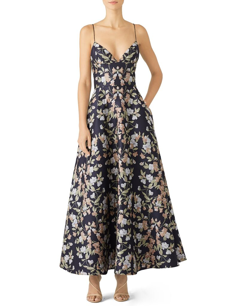 Monique Lhuillier spring wedding guest dresses