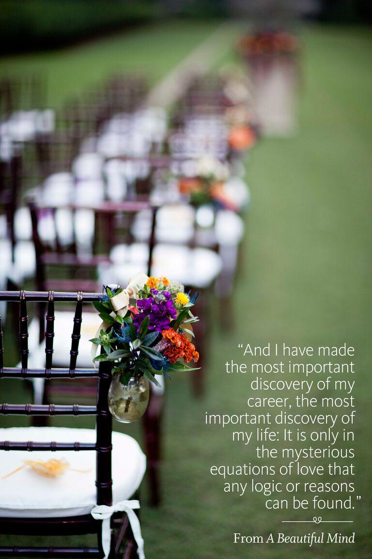 A Beautiful Mind Wedding Ceremony Reading