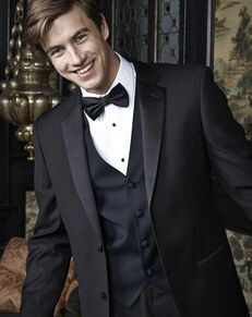 BLACKTIE HARTFORD Black Wedding Tuxedo Black Tuxedo