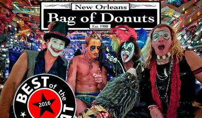 Bag Of Donuts In The Louisiana Music Hall Fame
