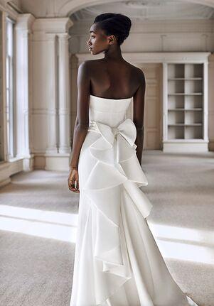 Viktor&Rolf Mariage WILD VOLANT BOW COLUMN Mermaid Wedding Dress