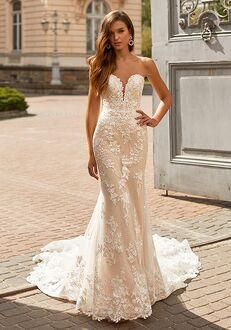 Moonlight Couture H1461 Mermaid Wedding Dress