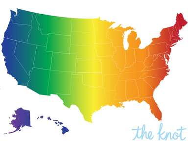 Gay marriage states map