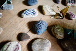 Advice Keepsake Rocks From Guests