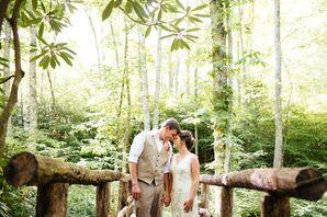 Amber and Jimi's Outdoors North Carolina Wedding