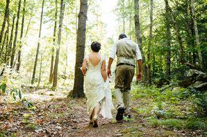 Laughing Waters Retreat Center Wedding Celebration