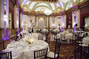 Belvedere Hotel Elegant Ballroom Reception