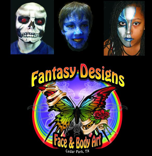 Fantasy Designs Face & Body Art - Face Painter - Cedar Park, TX