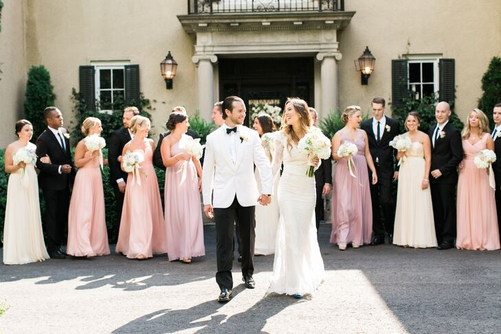A Romantic Vintage Glam Wedding At Lord Thompson Manor In