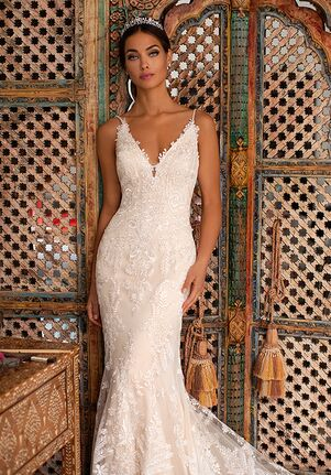 Moonlight Couture H1396 Mermaid Wedding Dress