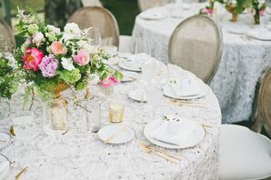 Lacy Vintage-Inspred Table Linens