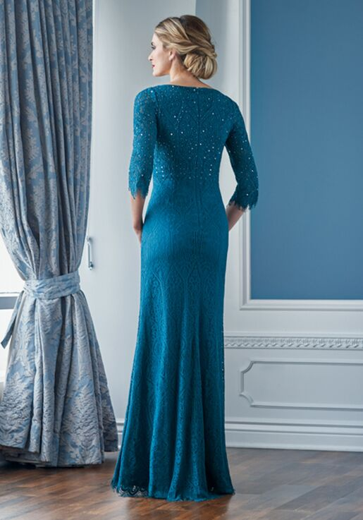 Jade Couture Mother of the Bride by Jasmine K218059 Blue Mother Of The Bride Dress