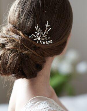 Dareth Colburn Kaia Crystal Hair Pin (TP-2841) Gold, Silver Pins, Combs + Clip