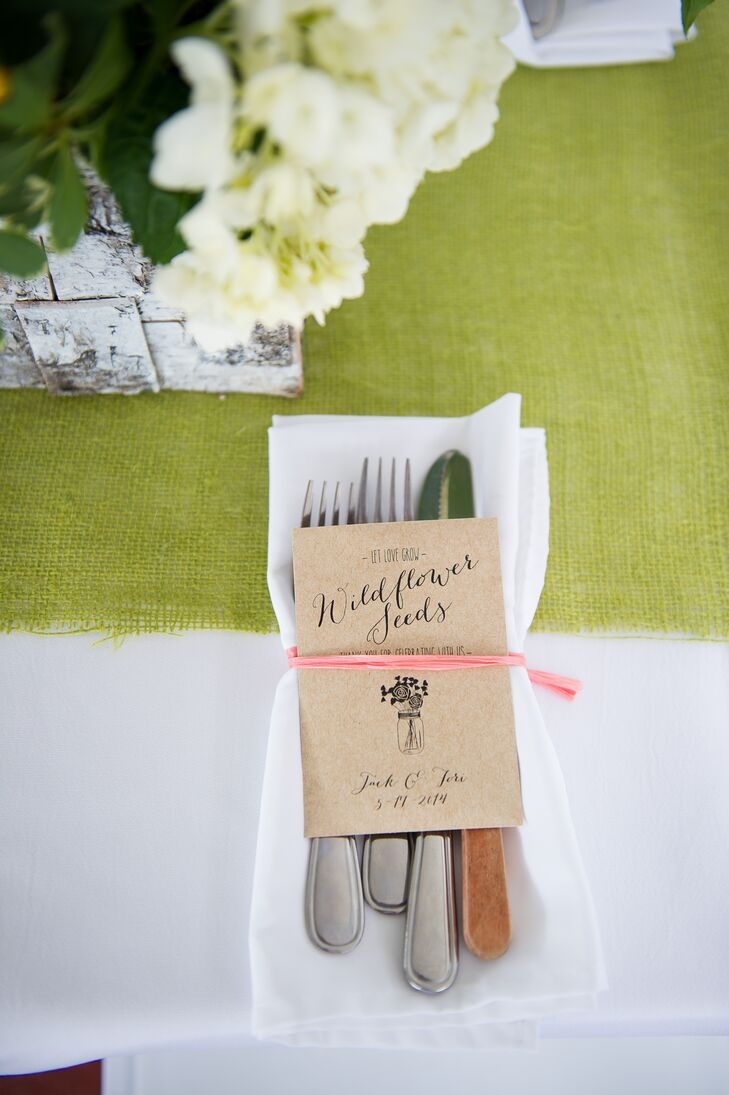 Wildflower Seed Wedding Favors