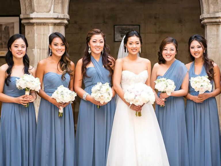 The Hottest Bridesmaid Dress Trends From