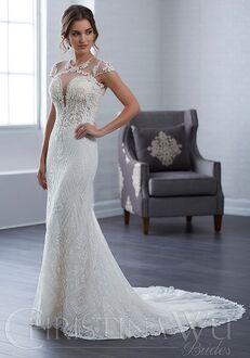 Christina Wu 15663 Sheath Wedding Dress
