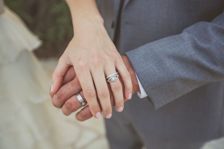 """Austin took Ashley to Punta Cana, Dominican Republic and proposed on the beach. """"Austin went to a jeweler and helped design it, so it is even more special to me,"""" says Ashley."""