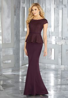 MGNY 71602 Gray Mother Of The Bride Dress