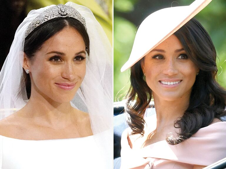 Image result for meghan markle wedding hair