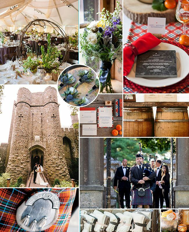 Highlander Wedding Inspiration