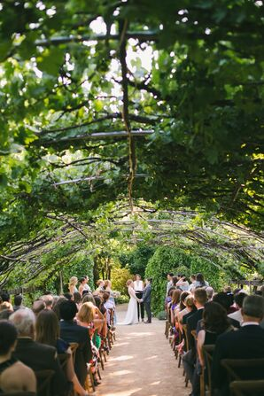 Romantic Outdoor Ceremony at Campovida in Hopland, California