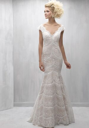 Madison James MJ256 Sheath Wedding Dress