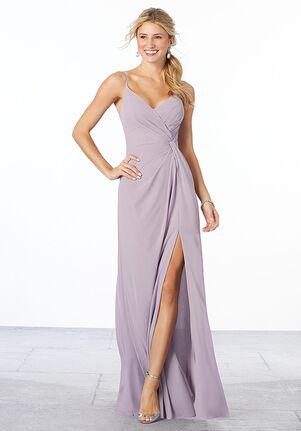 Morilee by Madeline Gardner Bridesmaids Style 21569 V-Neck Bridesmaid Dress
