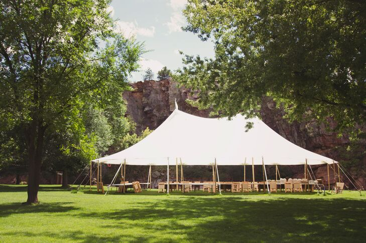A Tented Reception in Colorado