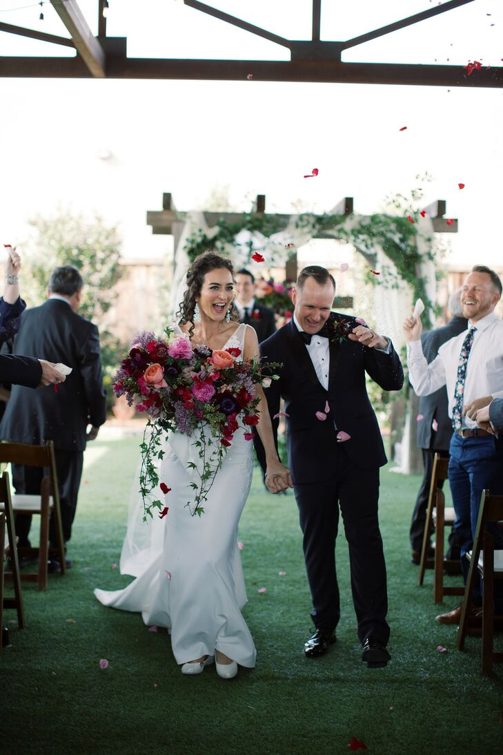 Modern Recessional at Mopac Event Center in Fort Worth, Texas